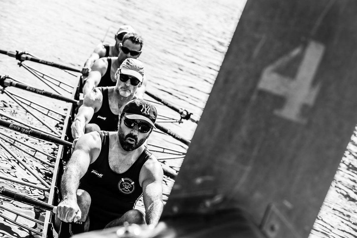 événement regataïades Nantes aviron départ course