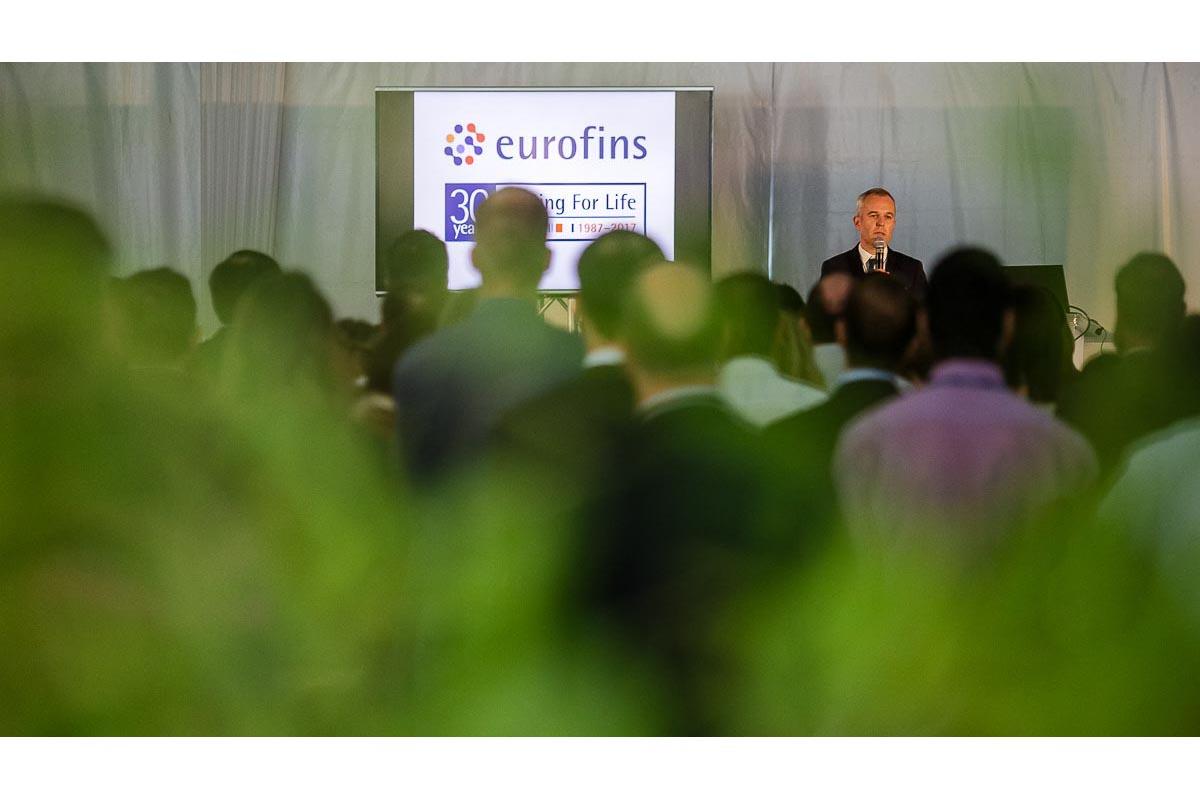événement eurofins François De Rugy