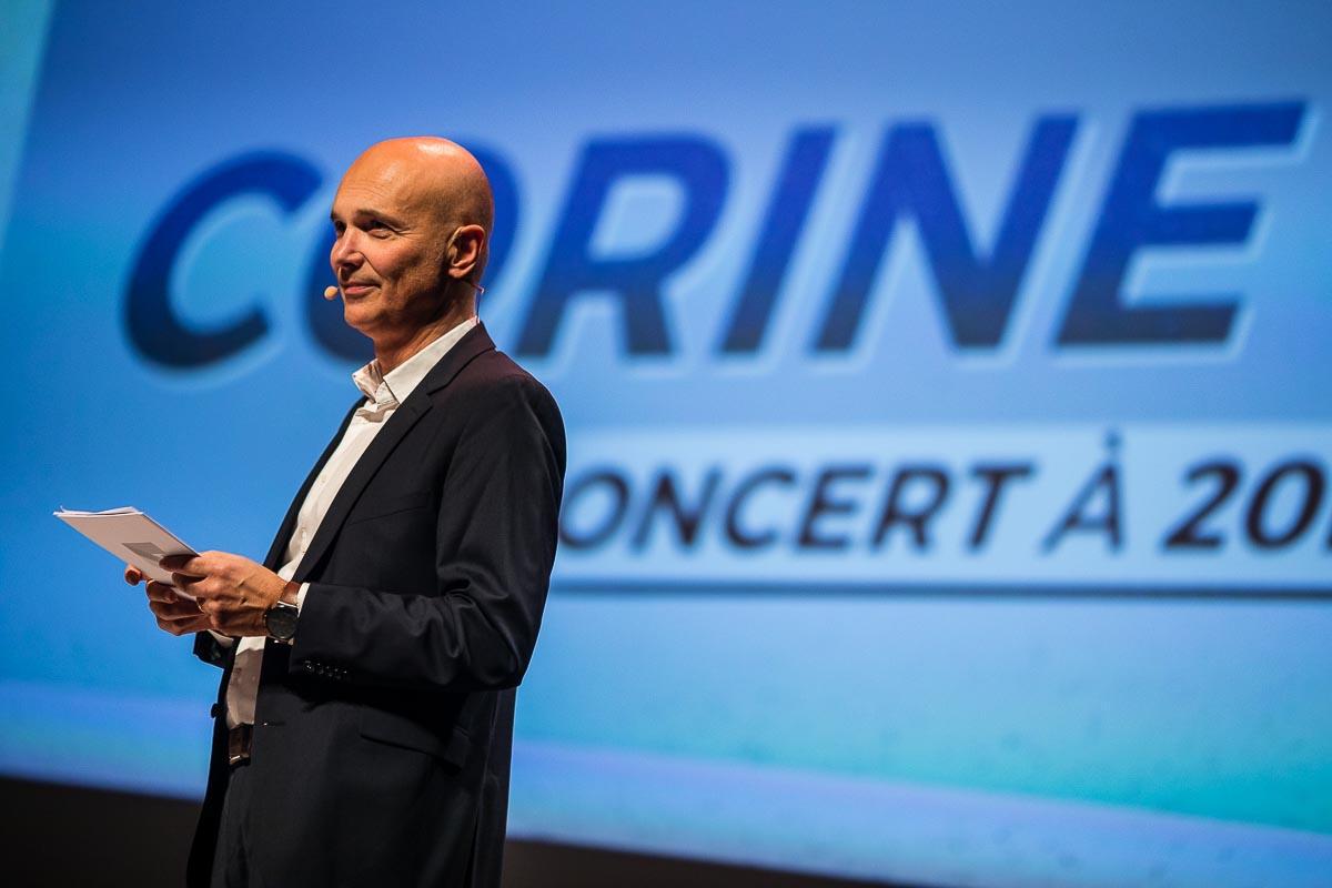 Eric Warin hôte conférence printemps des fameuses