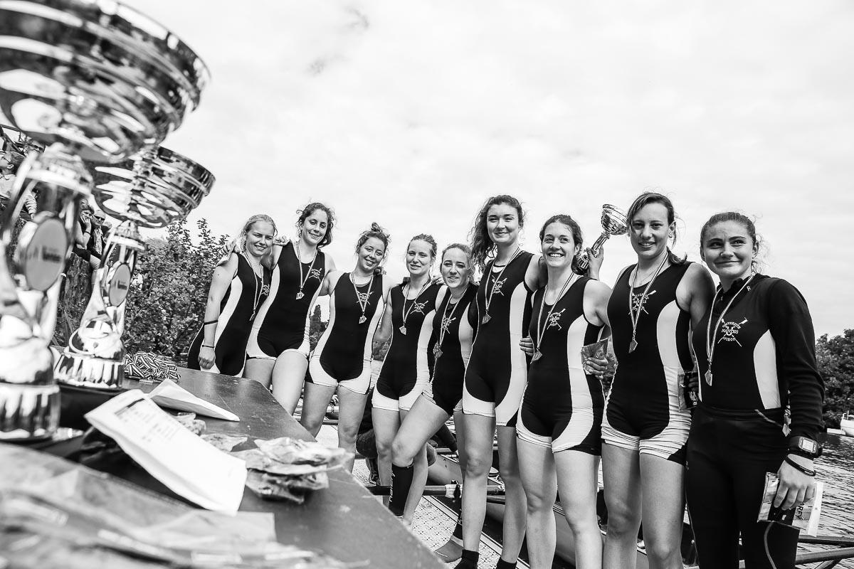 Equipe féminine gagnante Regataïades 2017