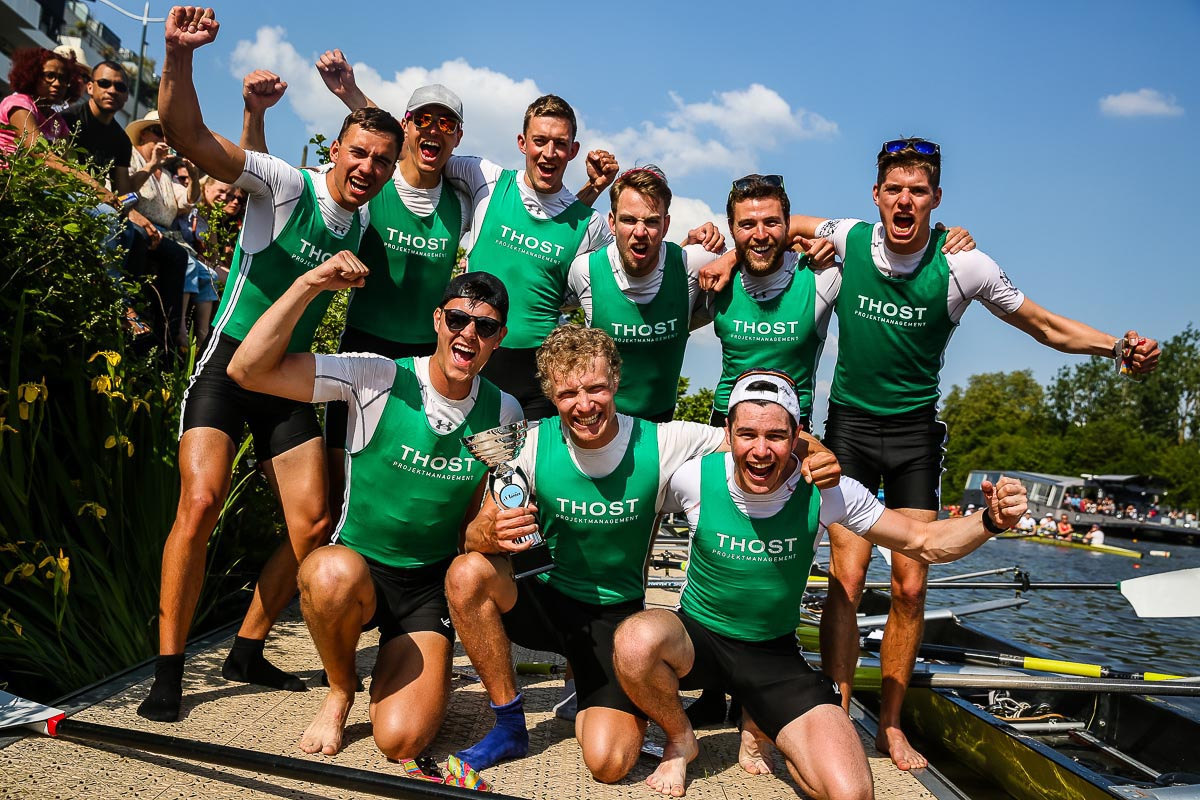 Equipe masculine gagnante Regataïades 2017