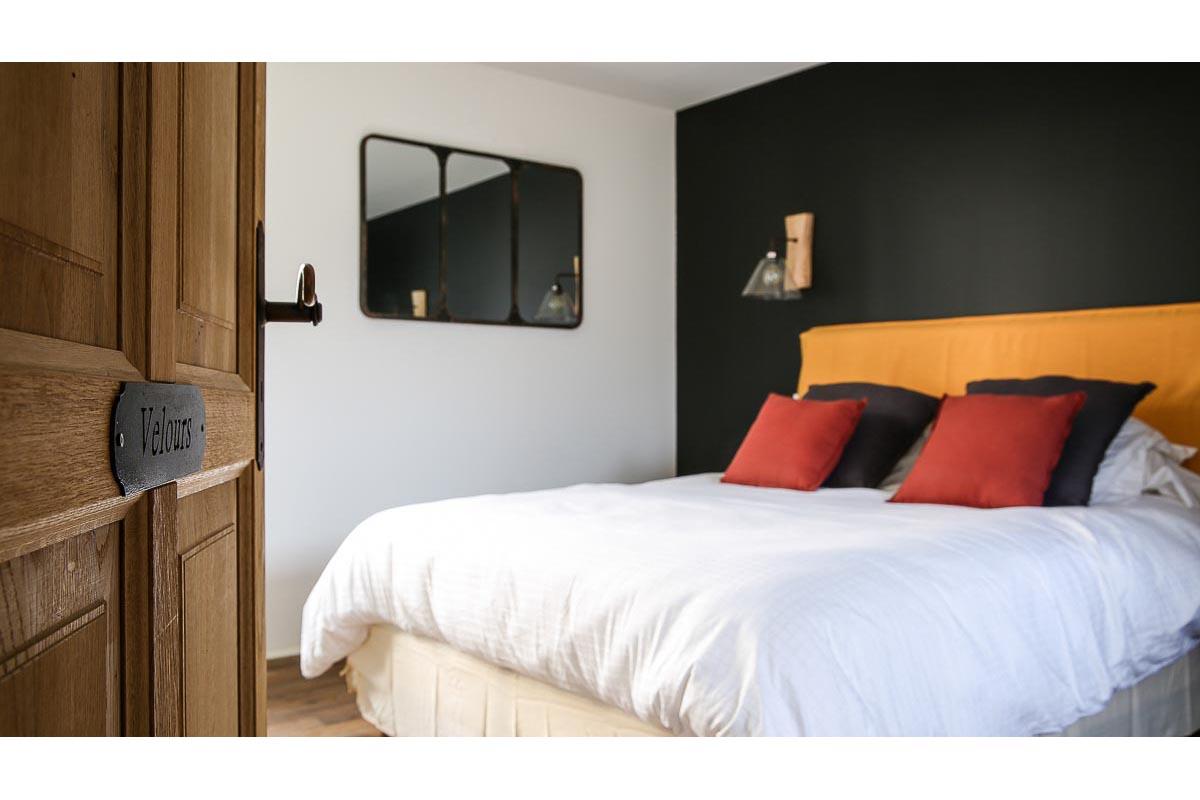 Gîte de France Morbihan chambre