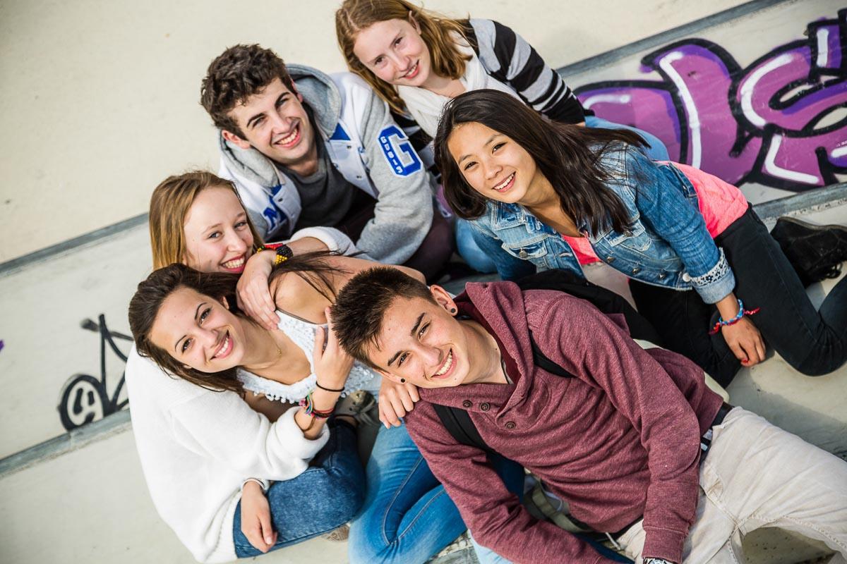 jeunes lycéens Nantes