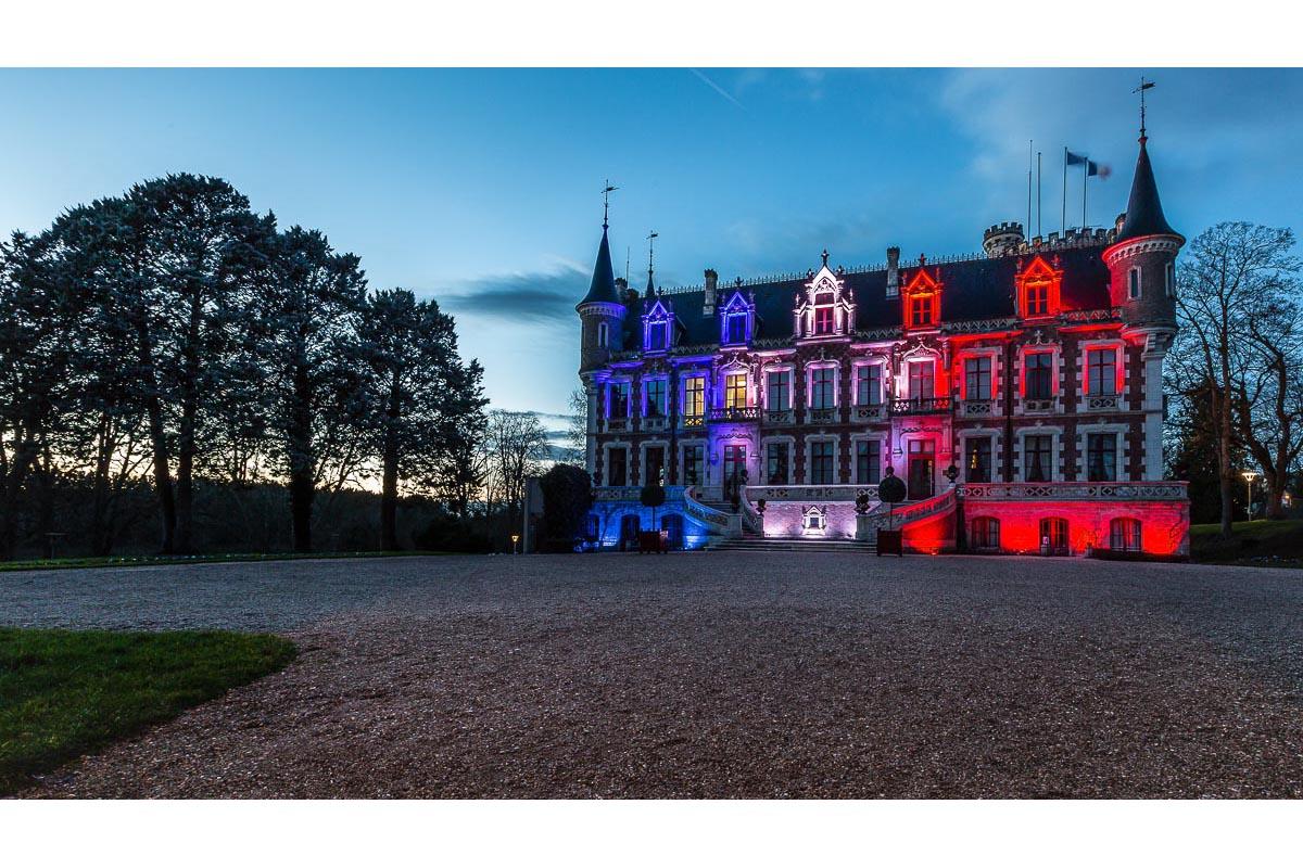 Mise en lumière de la mairie de Saint Florent sir Cher