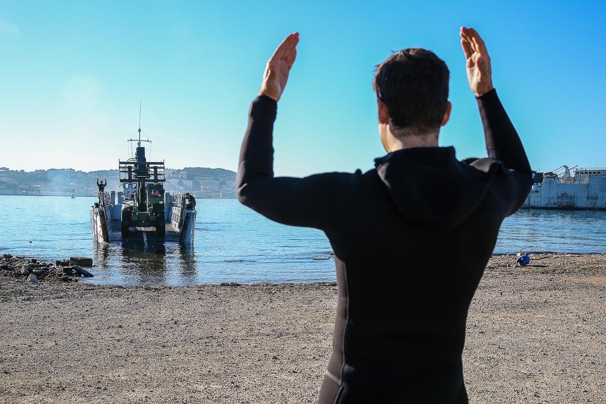 Reportage armée marine Toulon