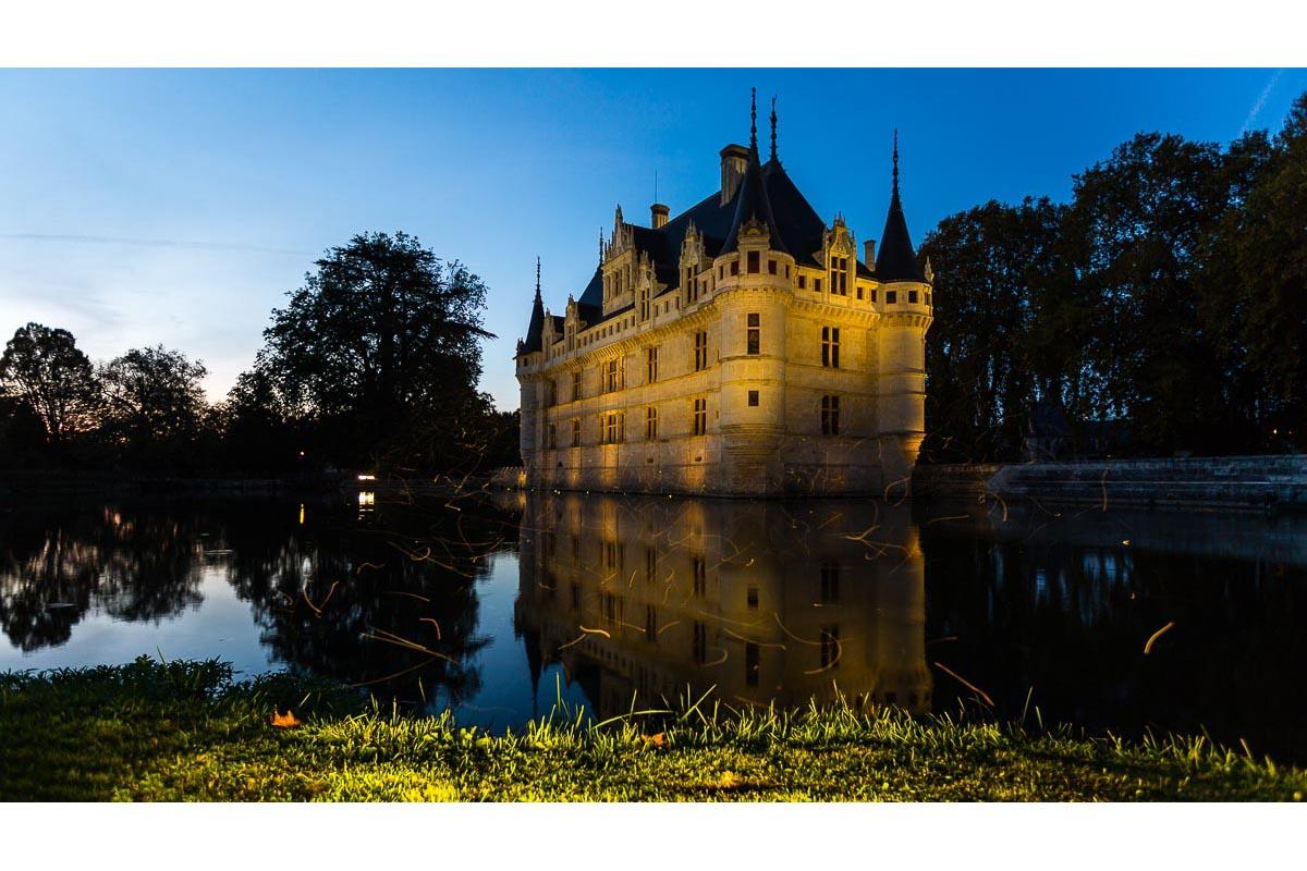 Reportage château Azay-le-Rideau