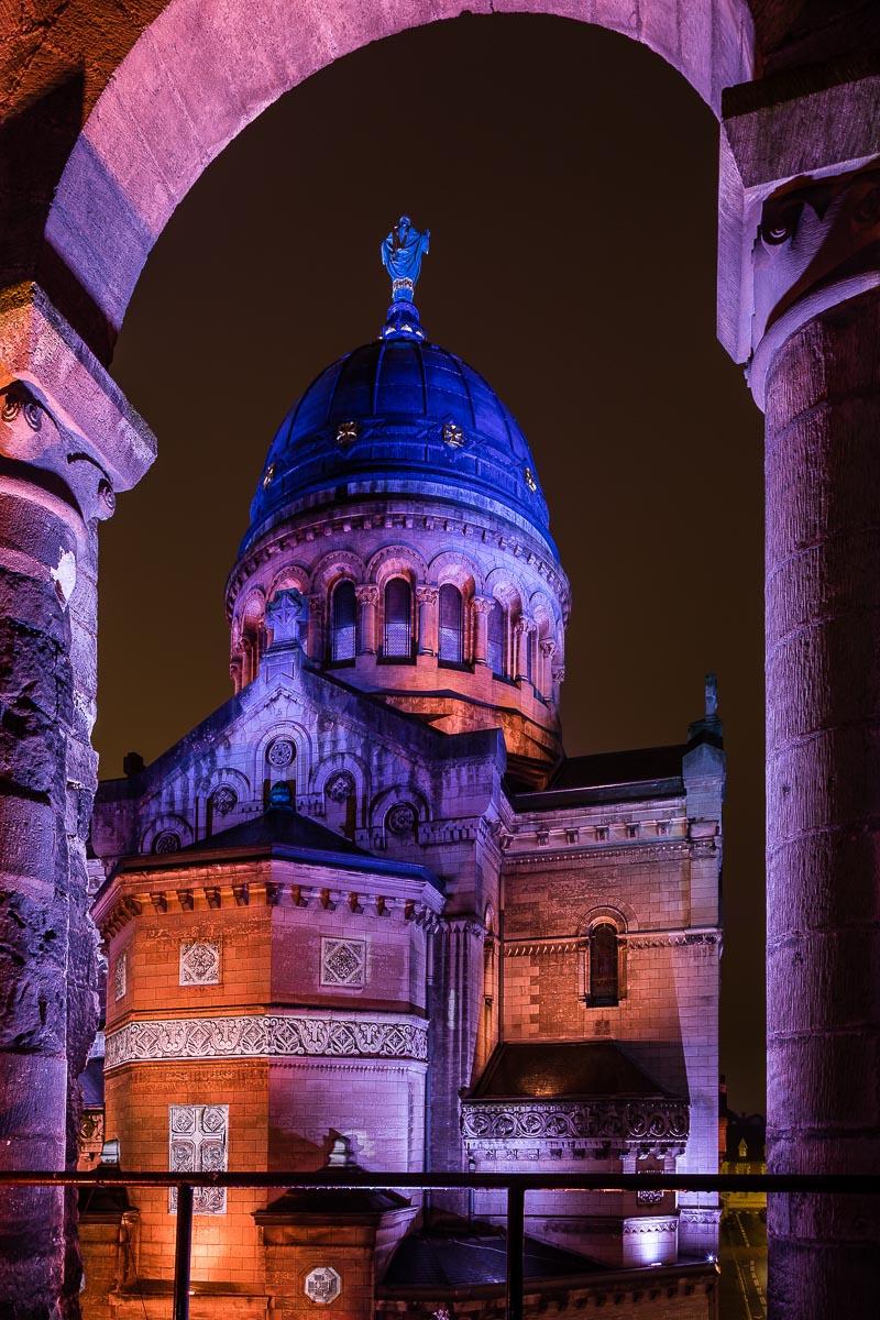 Reportage basilique Tours Parcours Lumière