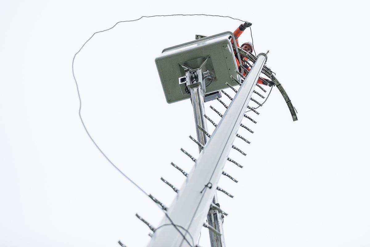 Reportage câble éclairage public