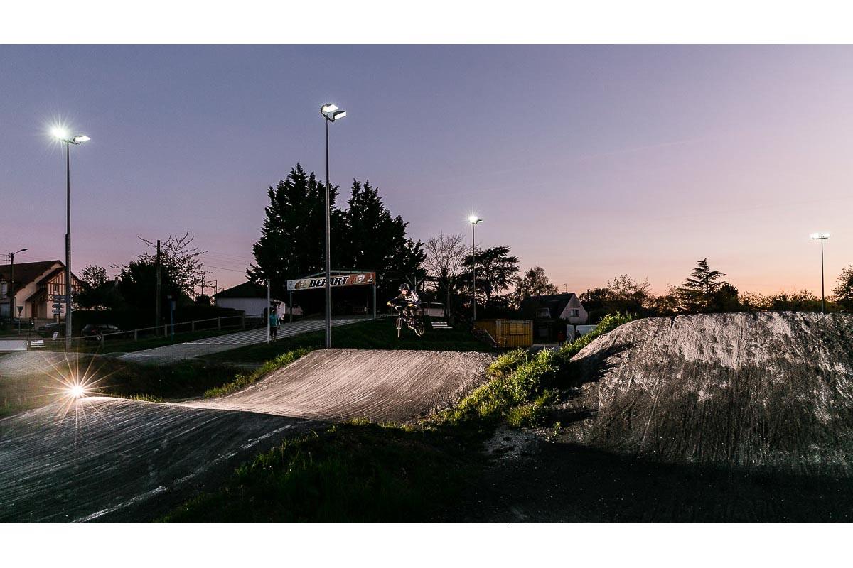 Eclairage Terrain de BMX Evreux