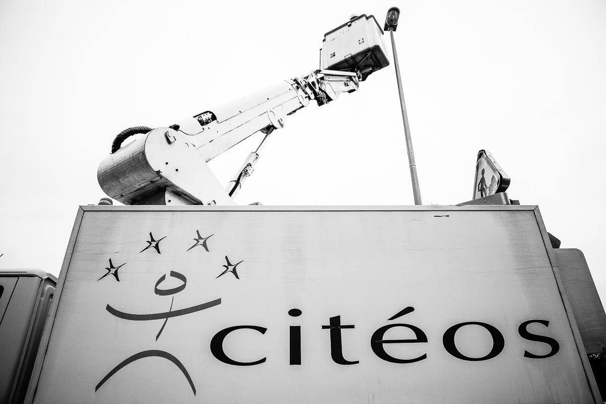 Reportage éclairage public Citeos