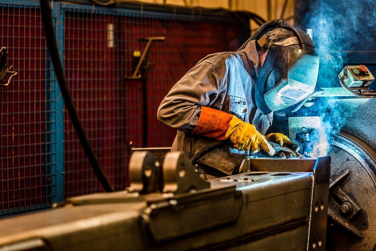 Reportage soudeur metallurgie