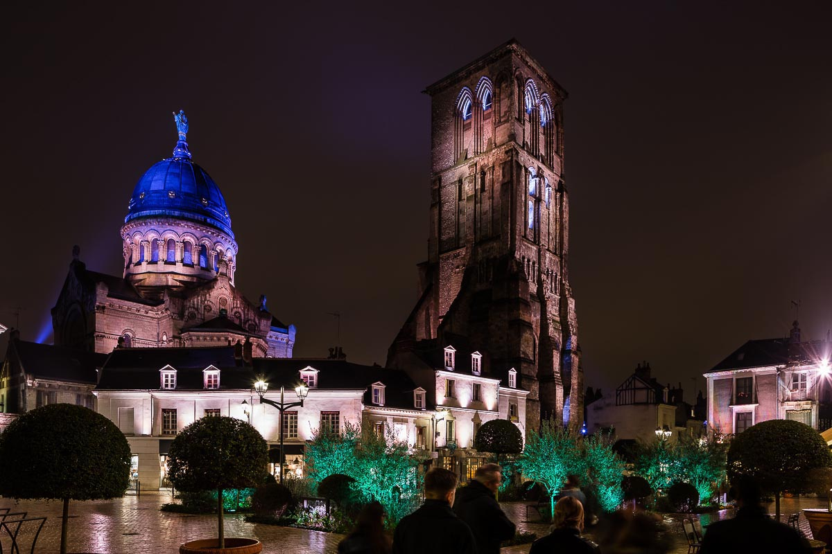 Tour Charlemagne, Parcours lumière de Tours