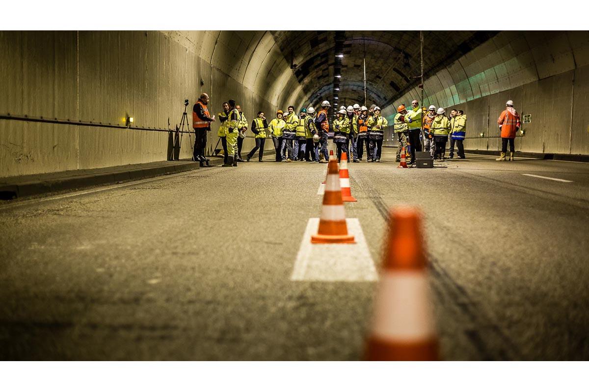 Reportage Tunnel Saint Cloud Paris